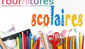 Fournitures scolaires 2021-2022